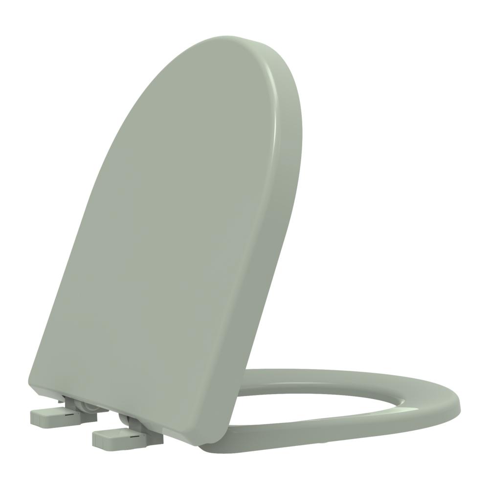 Assento sanitário Celite Riviera Smart Roca Nexo água marinha convencional resina termofixo Tupan