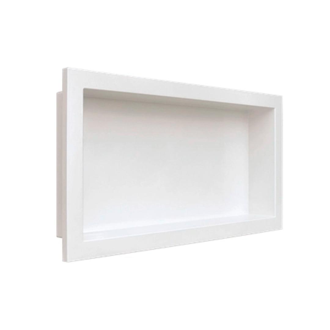 Nicho de parede para embutir branco 30X60 cm