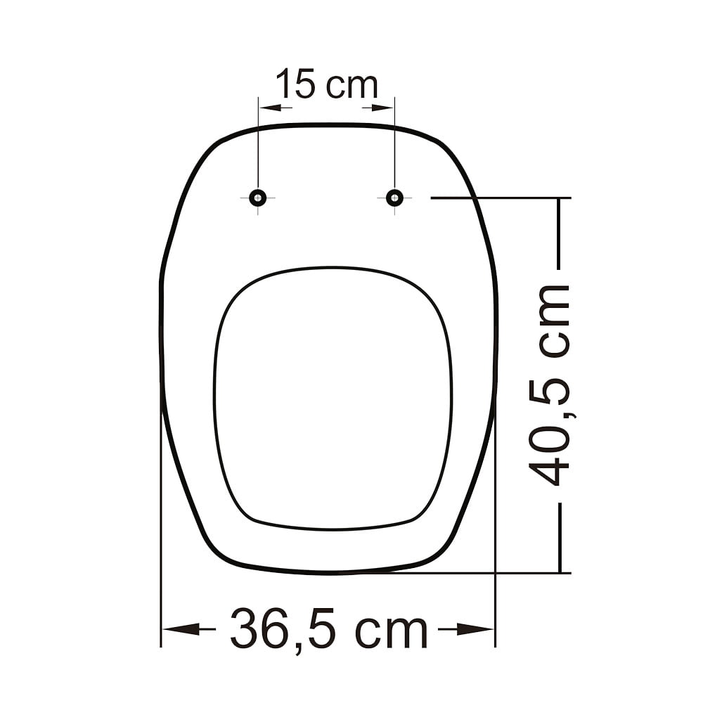 Assento Celite Fit/Versato e Eternit/Savary convencional polipropileno