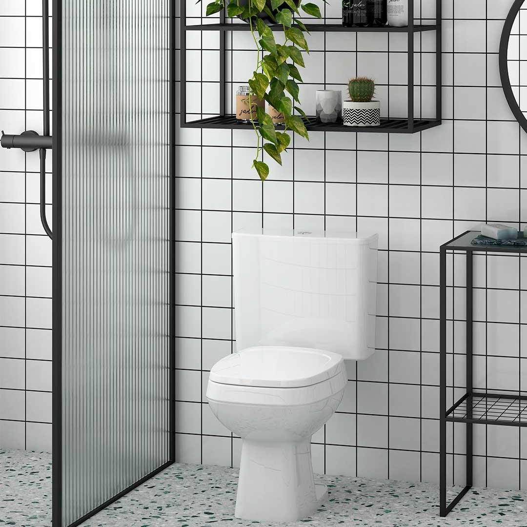 Assento Incepa City/Avant, Logasa/Angra e Celite/Like branco convencional polipropileno