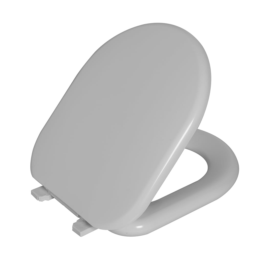 Assento sanitário almofadado Celite Riviera Nexo Smart Roca Astra branco convencional polipropileno