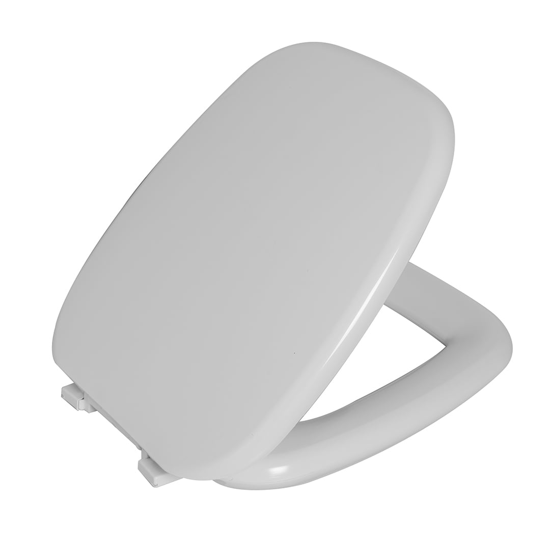 Assento sanitário almofadado Celite Versato convencional polipropileno branco Astra