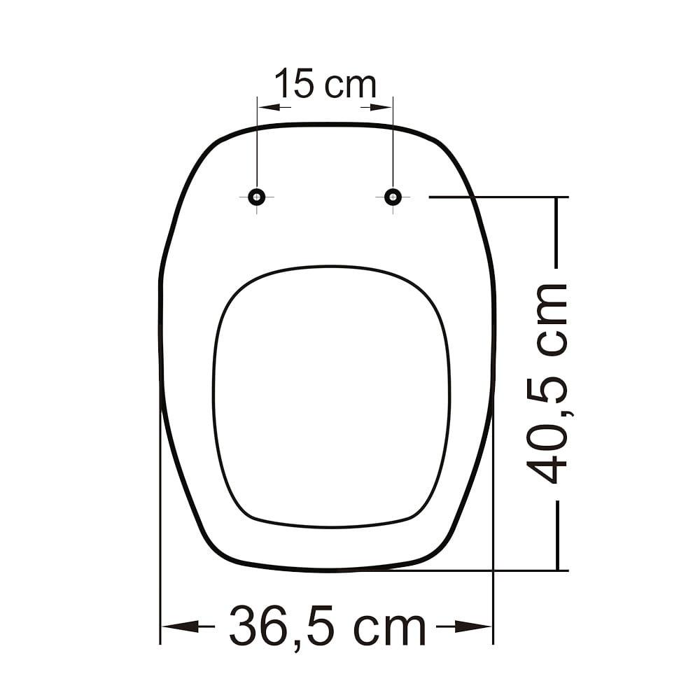 Assento sanitário Celite Fit/Versato e Eternit Savary branco convencional termofixo