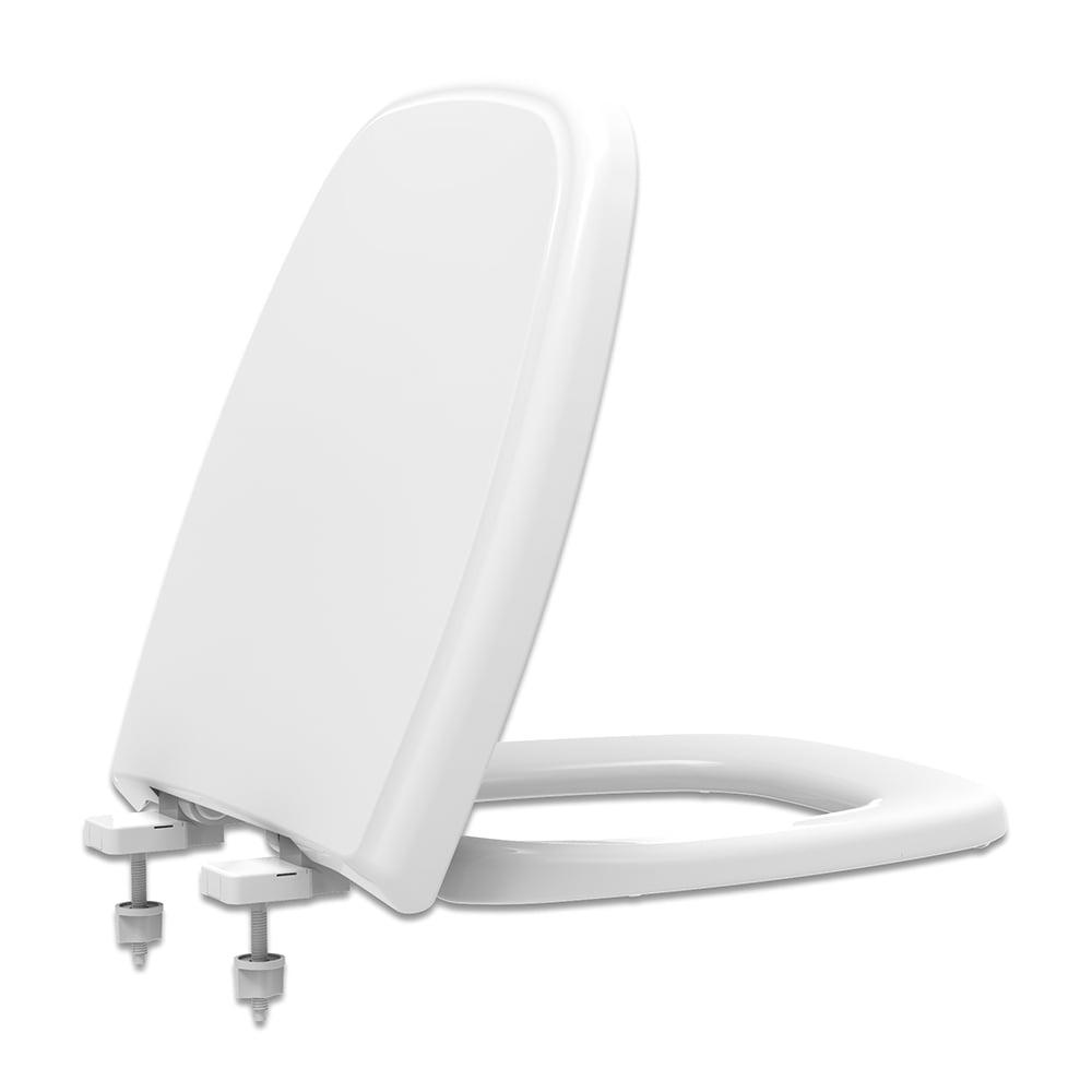 Assento sanitário Celite Fit/Versato e Eternit Savary branco soft close polipropileno