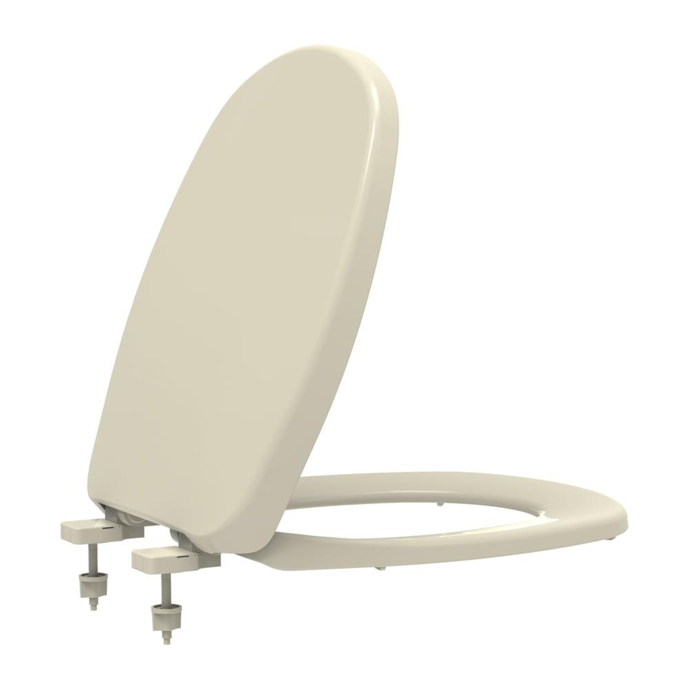 Assento sanitário Deca Aspen/Fast e Santa Clara Álamo creme convencional polipropileno