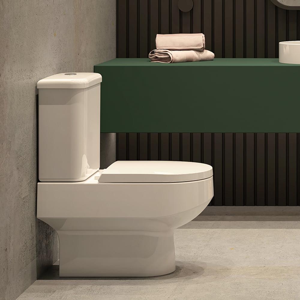 Assento sanitário Deca e Icasa Carrara/Link/Lk/Duna/Nuova/Vesuvio branco convencional polipropileno