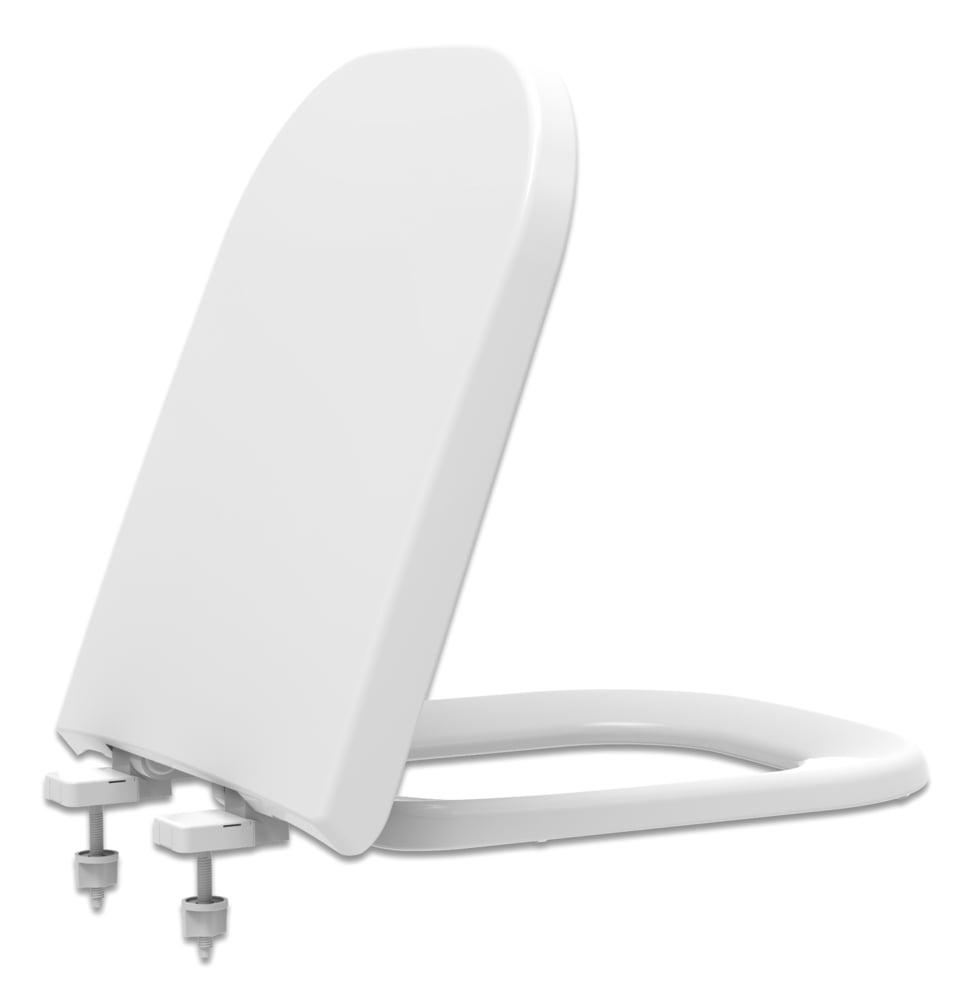 Assento sanitário Deca Polo/Unic/Quadra Roca Debba/Gap convencional polipropileno