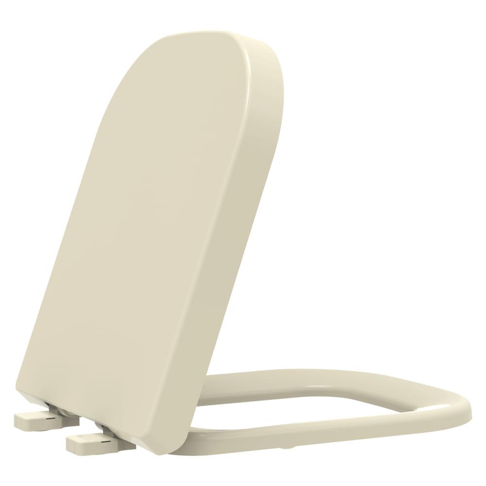 Assento sanitário Deca Polo/Unic/Quadra Roca Debba/Gap creme convencional resina termofixo