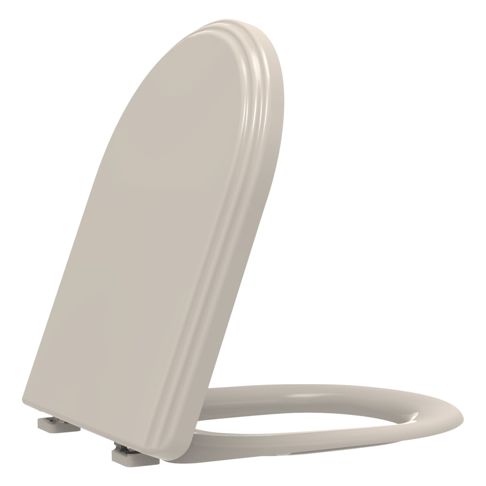 Assento sanitário Icasa Firenze palha convencional resina termofixo