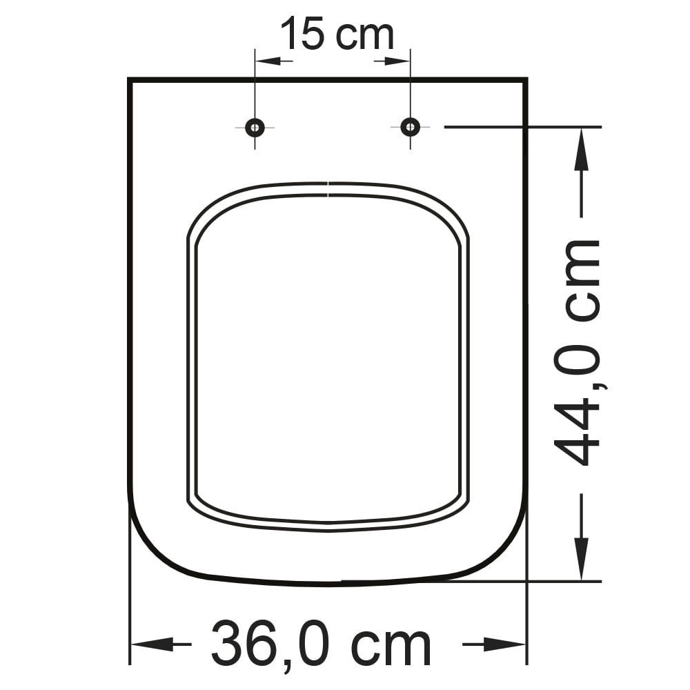 Assento sanitário Icasa Misti palha soft close polipropileno