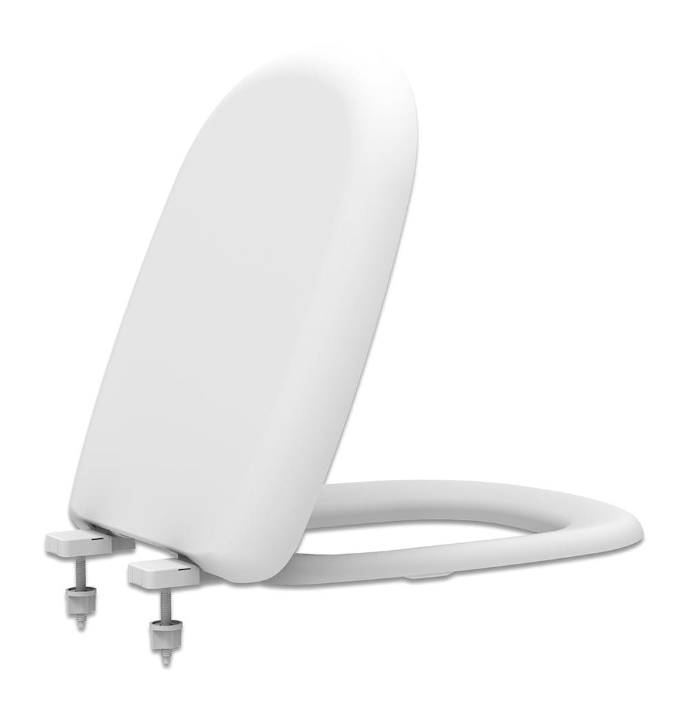 Assento sanitário Icasa Sabatini branco soft close resina termofixo