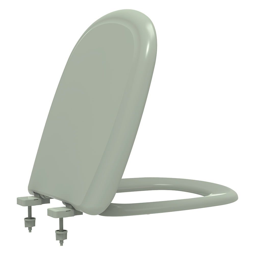 Assento sanitário Icasa Sabatini verde claro soft close polipropileno