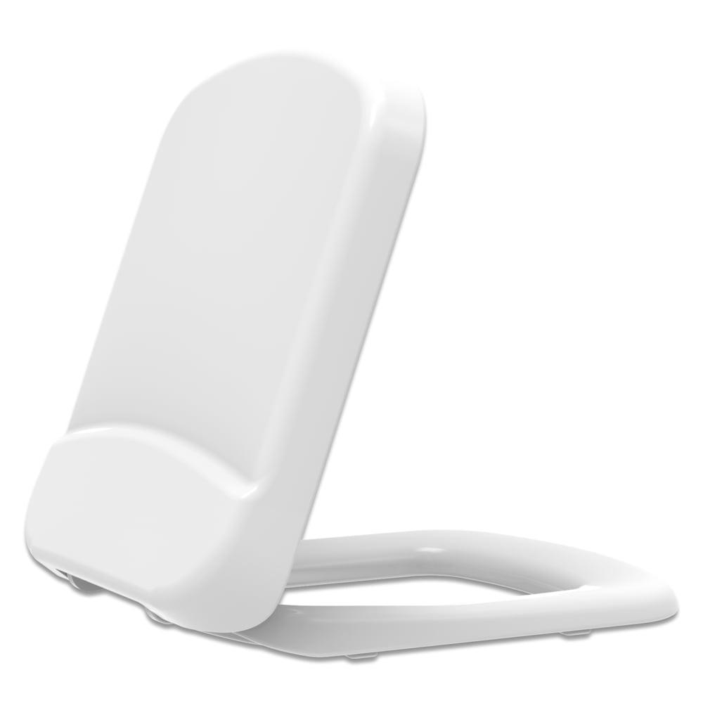 Assento sanitário Incepa Bali branco convencional resina termofixo