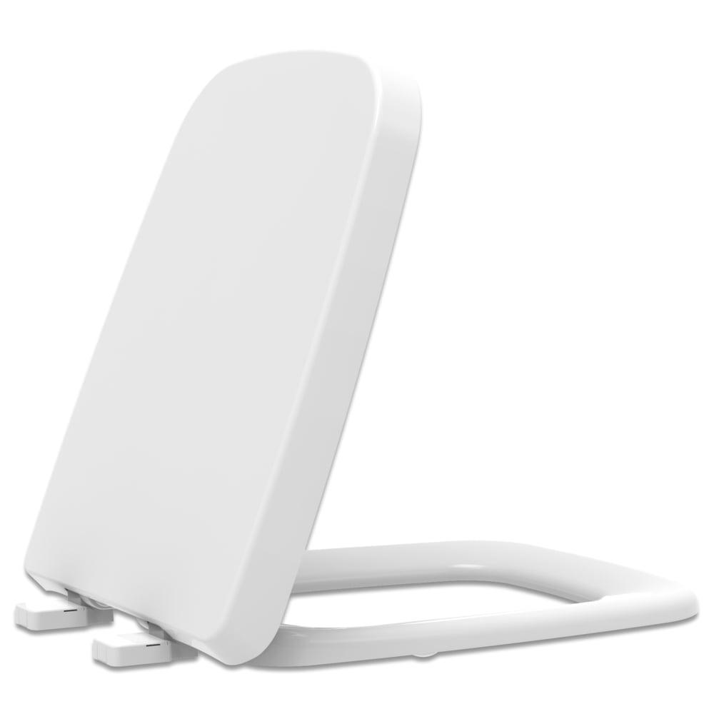 Assento sanitário Incepa Boss branco convencional resina termofixo