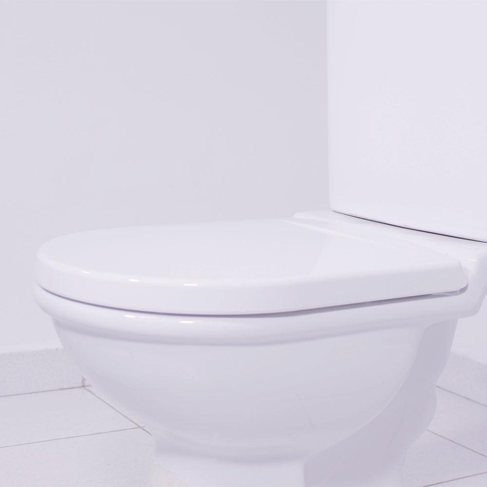Assento sanitário Incepa Calypso branco convencional resina termofixo