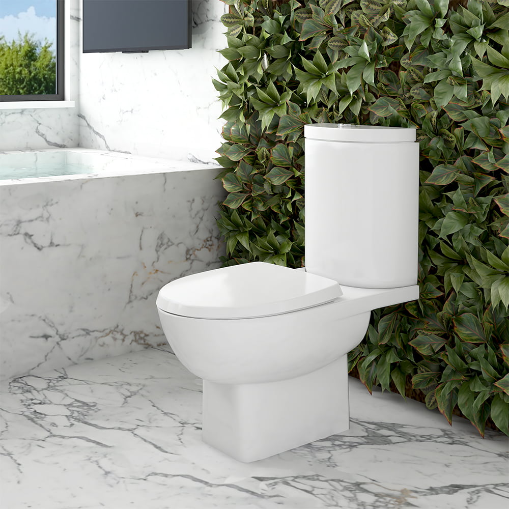 Assento sanitário Incepa Eros branco convencional resina termofixo
