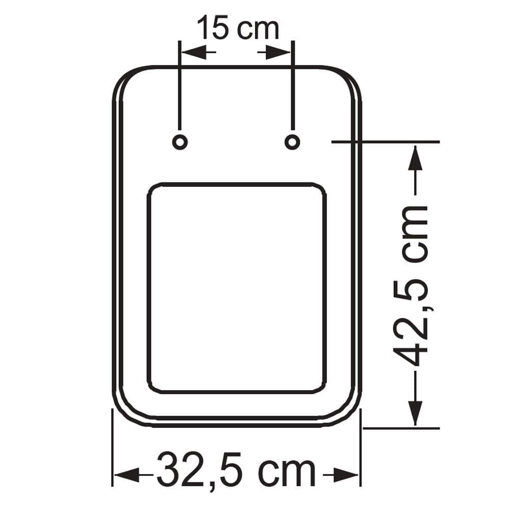 Assento sanitário Incepa Square creme convencional resina termofixo