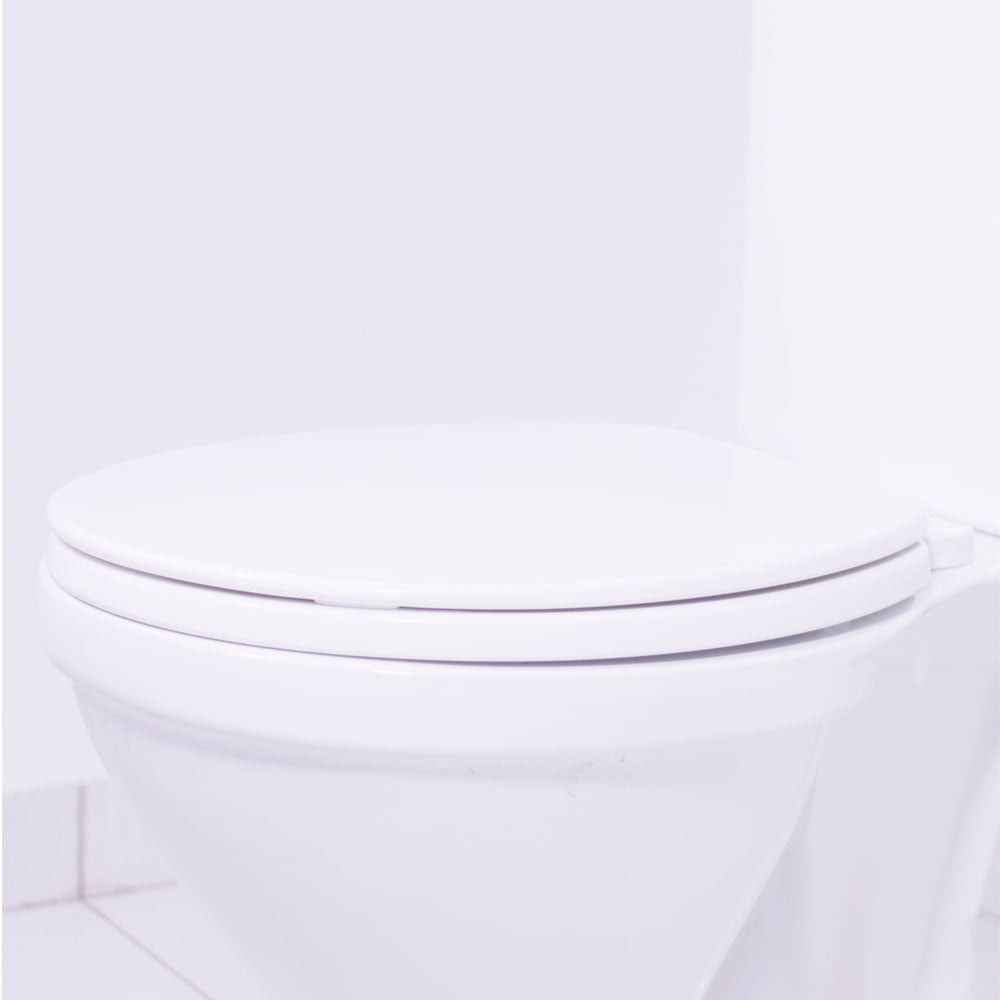 Assento sanitário Universal Oval Atlas branco convencional polipropileno