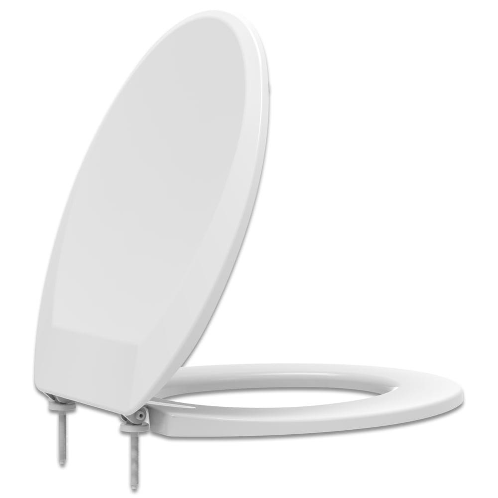 Assento sanitário Universal Oval Prime branco convencional polipropileno