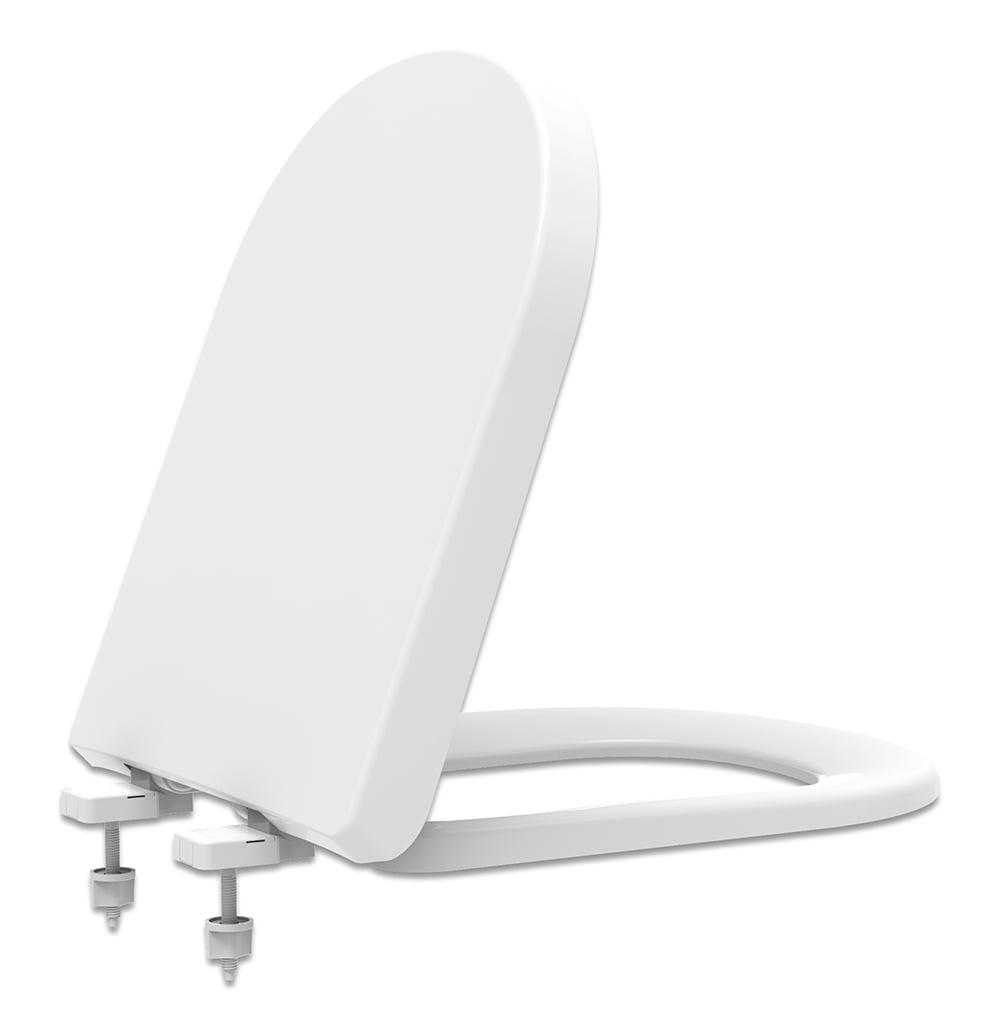 Assento sanitário VoguePlus Life Flox Square LorenLuna LorenClass gelo soft close resina termofixo