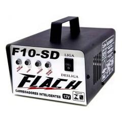 Carregador de Bateria 10a com Aux. De Partida - F10sd