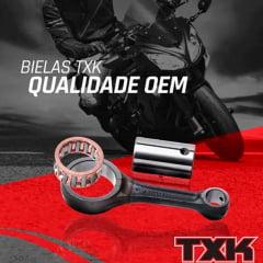Biela moto Yamaha DT 200 galvanizada completa TXK
