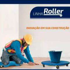 Carrinho de piso para joelhos almofadado Roller de piso