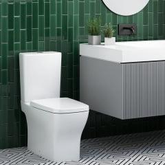 Assento sanitário almofadado Incepa Boss branco convencional polipropileno Astra