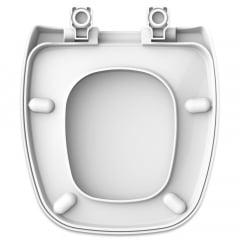 Assento sanitário Celite Fit/Versato e Eternit Savary branco convencional resina termofixo