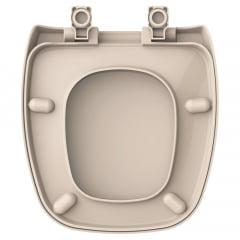 Assento sanitário Celite Fit Versato Eternit Savary rosato soft close resina termofixo Tupan