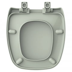 Assento sanitário Celite Fit Versato Eternit Savary agua marinha convencional polipropileno Tupan