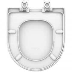 Assento sanitário Celite Riviera/Smart e Roca Nexo branco convencional resina termofixo