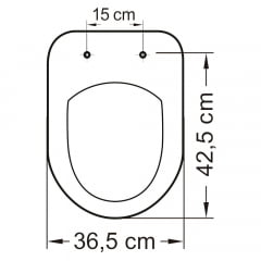 Assento sanitário Celite Riviera/Smart e Roca Nexo branco soft close polipropileno