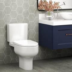Assento sanitário Celite Riviera/Smart e Roca Nexo branco soft close resina termofixo