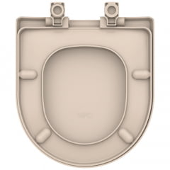 Assento sanitário Celite Riviera Smart Roca Nexo rosato convencional resina termofixo Tupan