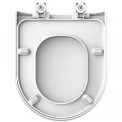 Assento sanitário Deca e Icasa Carrara Link Lk Duna Nuova Vesuvio gelo soft close resina termofixo
