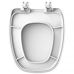 Assento sanitário Deca Monte Carlo convencional polipropileno