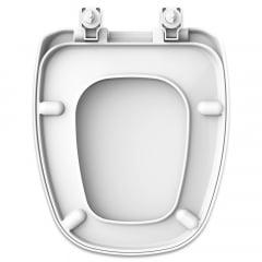 Assento sanitário Deca Monte Carlo gelo convencional resina termofixo