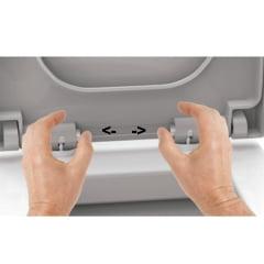 Assento sanitário Deca Monte Carlo soft close easy clean Tigre resina termofixo