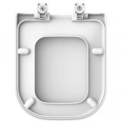 Assento sanitário Deca Polo/Unic/Quadra Roca Debba/Gap gelo convencional resina termofixo