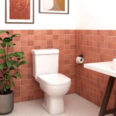 Assento sanitário Icasa Etna branco convencional resina termofixo