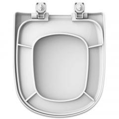 Assento sanitário Icasa Etna soft close polipropileno