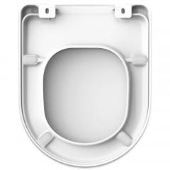 Assento sanitário Icasa Luna/Luna Speciale convencional resina termofixo