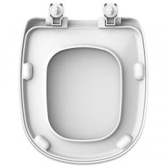 Assento sanitário Icasa Sabatini branco convencional resina termofixo