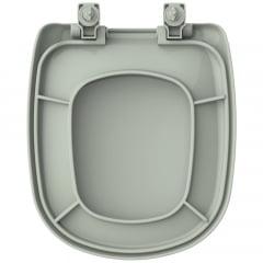 Assento sanitário Icasa Sabatini verde convencional polipropileno