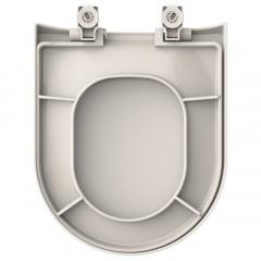 Assento sanitário Icasa Vesuvio palha soft close polipropileno
