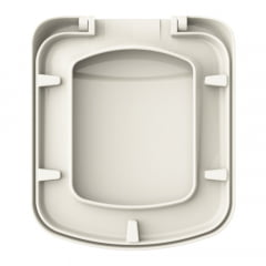 Assento sanitário Incepa Bali biscuit convencional resina termofixo