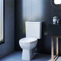 Assento sanitário Incepa Thema branco convencional polipropileno