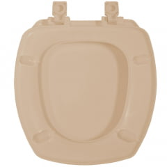 Assento sanitário Incepa Thema pessego soft close resina termofixo Tupan
