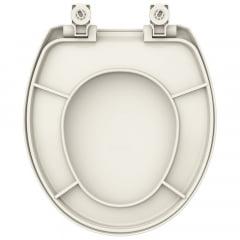 Assento sanitário Universal Oval Evolution soft close polipropileno